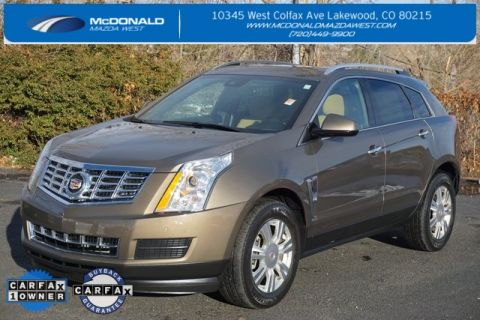 Pre-Owned 2015 Cadillac SRX Luxury FWD 4D Sport Utility