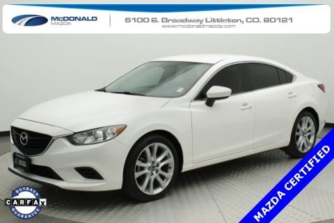 Certified Pre-Owned 2015 Mazda6 i Touring FWD 4D Sedan