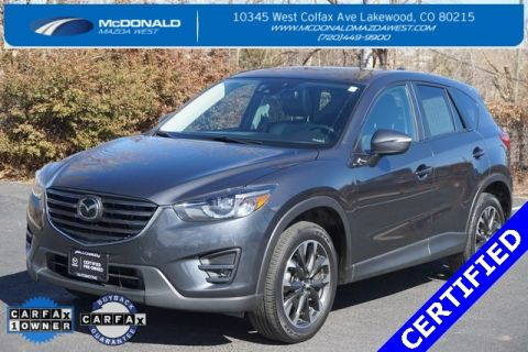 Certified Pre-Owned 2016 Mazda CX-5 Grand Touring i-active sense AWD