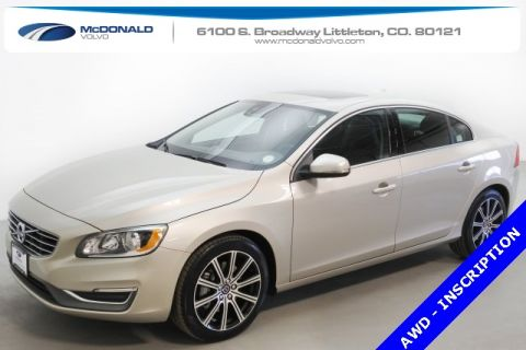 New 2017 Volvo S60 T5 Inscription With Navigation & AWD