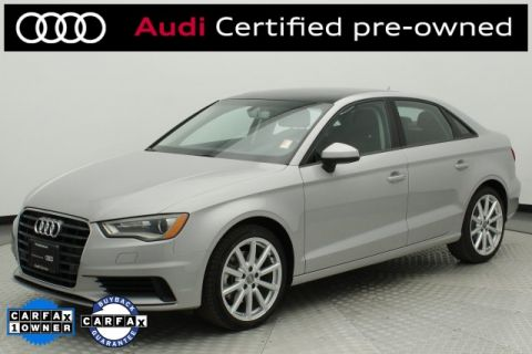 Certified Pre-Owned 2016 Audi A3 1.8T Premium FrontTrak 4D Sedan