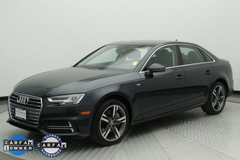 Pre-Owned 2017 Audi A4 2.0T Premium Plus FrontTrak 4D Sedan