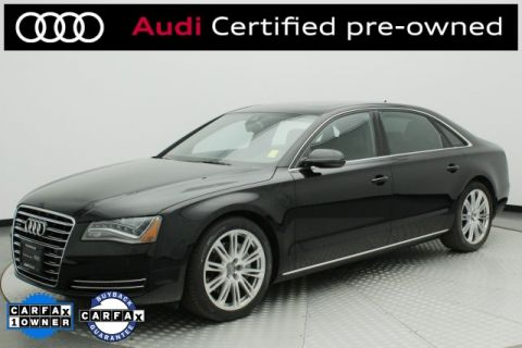 Certified Pre-Owned 2014 Audi A8 L 3.0T quattro 4D Sedan