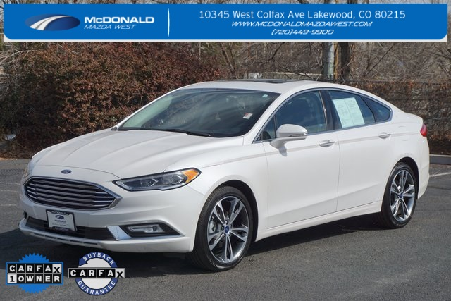 Pre Owned 2017 Ford Fusion Anium