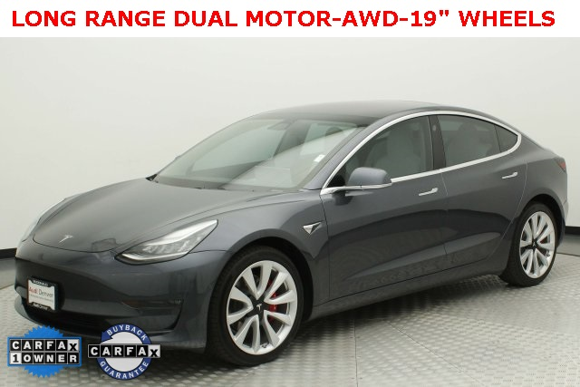 Pre-Owned 2018 Tesla Model 3 Long Range AWD
