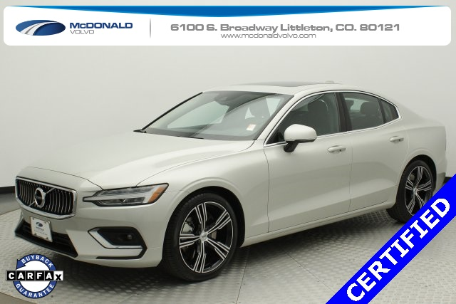 Volvo Certified Pre-Owned >> Certified Pre Owned 2019 Volvo S60 T6 Inscription 4d Sedan In