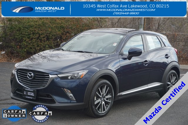 Certified Pre Owned 2016 Mazda Cx 3 Grand Touring