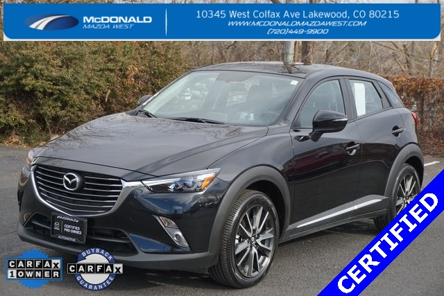Certified Pre-Owned 2017 Mazda CX-3 Grand Touring Certified Pre Owned