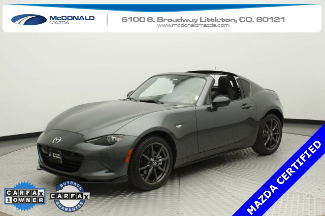 Certified Pre-Owned 2018 Mazda Miata RF Club