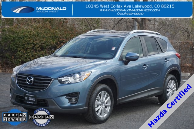 Certified Pre Owned 2016 Mazda Cx 5 Touring 4d Sport Utility In
