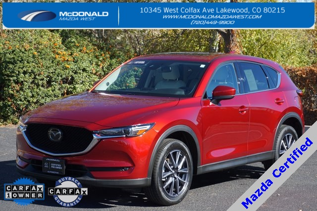 Certified Pre-Owned 2018 Mazda CX-5 Grand Touring Navigation