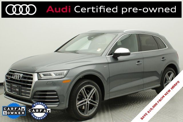 Audi Certified Pre Owned >> Certified Pre Owned 2018 Audi Sq5 3 0t Premium Plus Quattro 4d Sport Utility