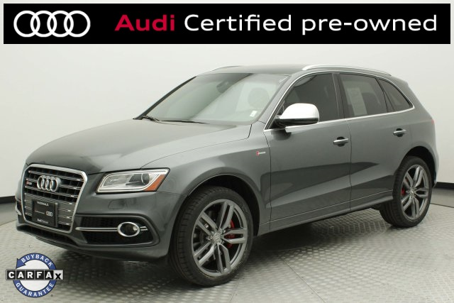 Certified Pre-Owned 2016 Audi SQ5 3.0T Premium Plus