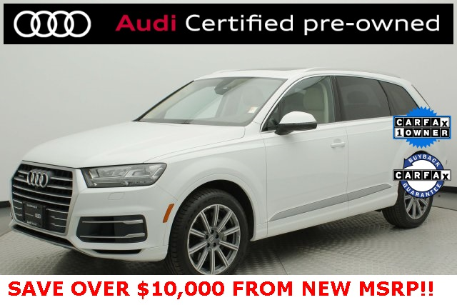 Audi Certified Pre Owned >> Certified Pre Owned 2019 Audi Q7 3 0t Premium Plus Quattro 4d Sport Utility