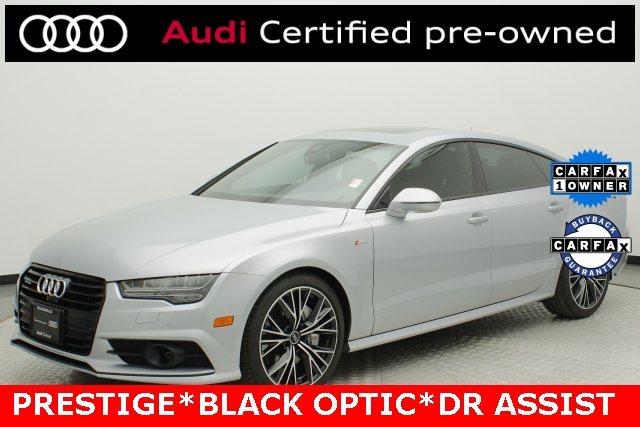 Audi Certified Pre Owned >> Certified Pre Owned 2018 Audi A7 3 0t Prestige Quattro 4d Hatchback