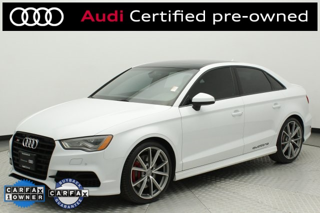 Certified Pre Owned 2016 Audi S3 2 0t Premium Plus
