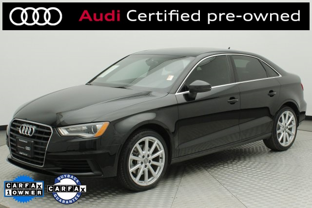 Certified Pre-Owned 2015 Audi A3 2.0T Premium