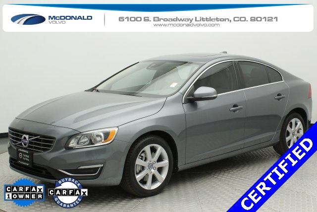 Certified Pre Owned 2016 Volvo S60 T5 Premier