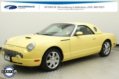 Pre-Owned 2002 Ford Thunderbird Base RWD 2D Convertible