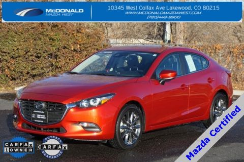 Certified Pre-Owned 2018 Mazda3 Touring Base FWD 4D Sedan