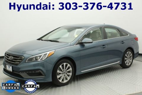 Pre-Owned 2016 Hyundai Sonata Sport FWD 4D Sedan