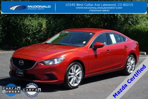 Certified Pre-Owned 2016 Mazda6 i Touring
