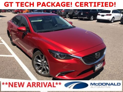 Certified Pre-Owned 2016 Mazda6 i Grand Touring Tech Pkg