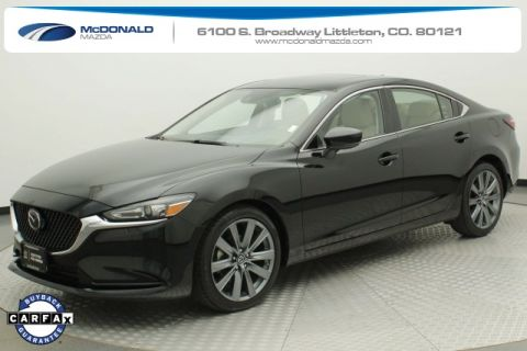 Certified Pre-Owned 2018 Mazda6 Grand Touring FWD 4D Sedan