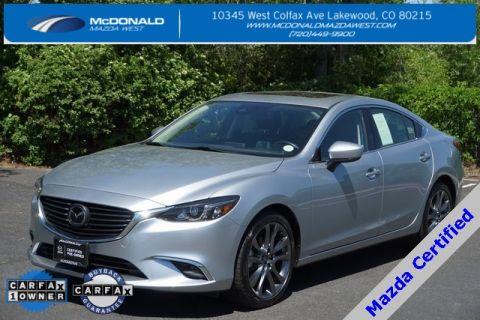 Certified Pre-Owned 2017 Mazda6 Grand Touring Navigation