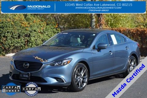 Certified Pre-Owned 2017 Mazda6 Grand Touring Premium Package FWD 4D Sedan