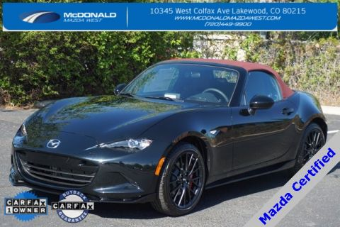 Certified Pre-Owned 2018 Mazda Miata Club WITH BREMBO PACKAGE RWD 2D Convertible