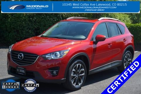 Certified Pre-Owned 2016 Mazda CX-5 Grand Touring Mazda Certified AWD