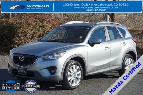 Certified Pre-Owned 2015 Mazda CX-5 Grand Touring Technology Package