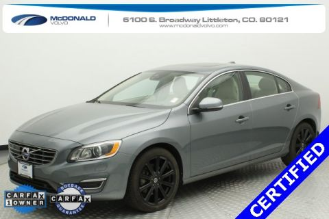 Certified Pre-Owned 2016 Volvo S60 Inscription T5 Platinum