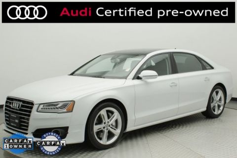 Certified Pre-Owned 2018 Audi A8 L 3.0T quattro 4D Sedan