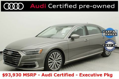 Certified Pre-Owned 2019 Audi A8 L 55