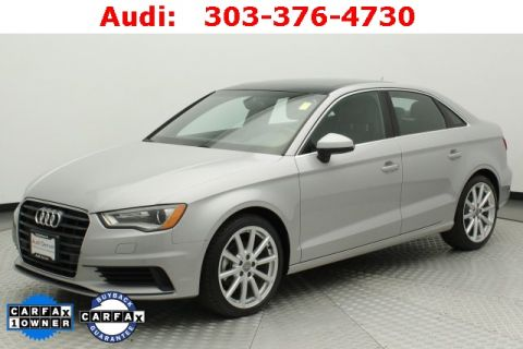 Pre-Owned 2015 Audi A3 2.0 TDI Premium FrontTrak 4D Sedan