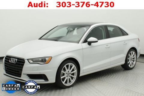 Pre-Owned 2015 Audi A3 2.0 TDI Premium Plus FrontTrak 4D Sedan