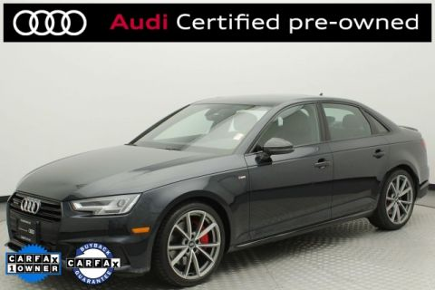 Certified Pre-Owned 2018 Audi A4 2.0T Premium quattro 4D Sedan