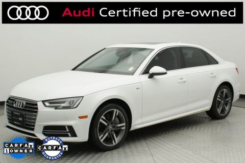 Certified Pre-Owned 2017 Audi A4 2.0T Premium Plus