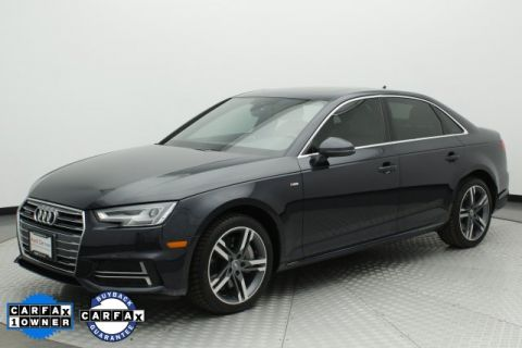 Pre-Owned 2017 Audi A4 2.0T Premium Plus quattro 4D Sedan