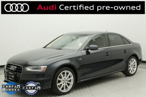 Certified Pre-Owned 2014 Audi A4 2.0T Premium Plus