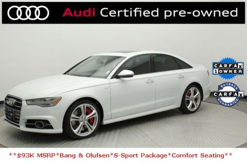 Certified Pre-Owned 2018 Audi S6 4.0T Premium Plus quattro 4D Sedan