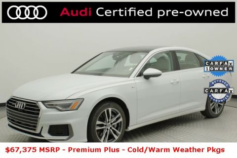 Certified Pre-Owned 2019 Audi A6 3.0T Premium Plus